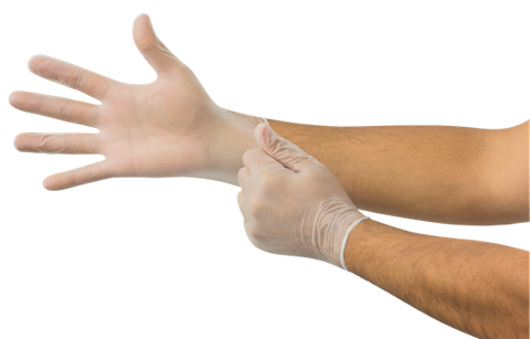 Dura-Touch® Vinyl Exam Gloves