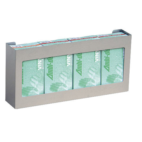 Stainless Steel Glove Box Holder (Quadruple)