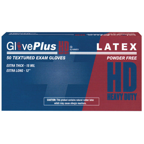 GlovePlus® Heavy Duty Latex Gloves