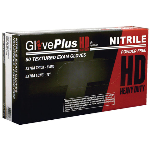 GlovePlus® Heavy Duty Nitrile Gloves