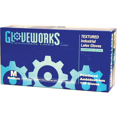 GloveWorks® Latex Gloves