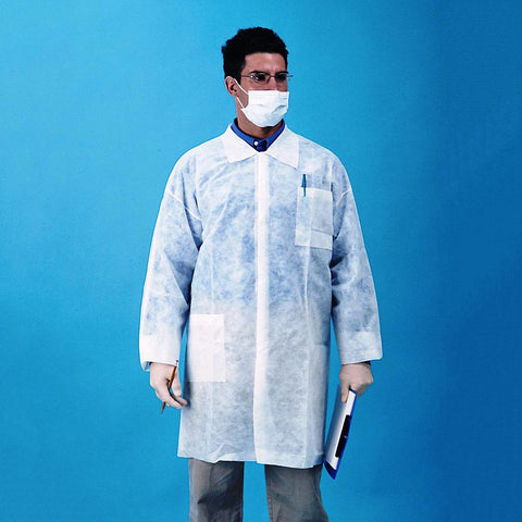 Polypropylene Lab Coat - 3 Pockets (30 gram)