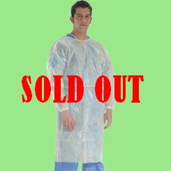 PE Laminated Polypropylene Isolation Gown (Universal Size)