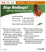 Government of Canada on bed bugs