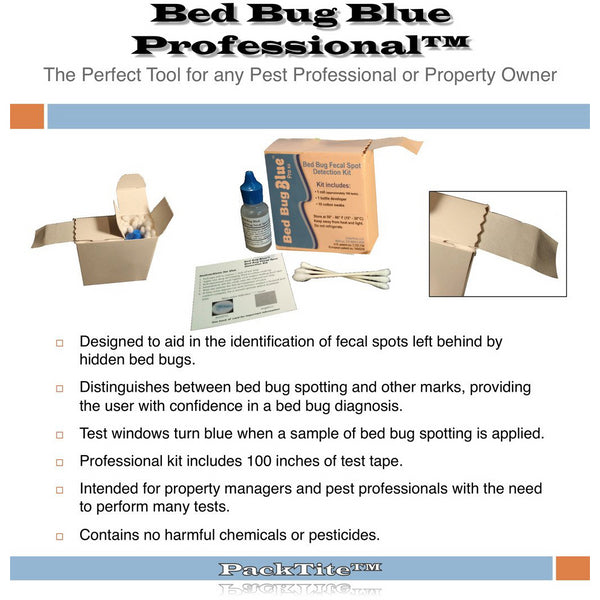Bed Bug Blue Fecal Matter Test Kit