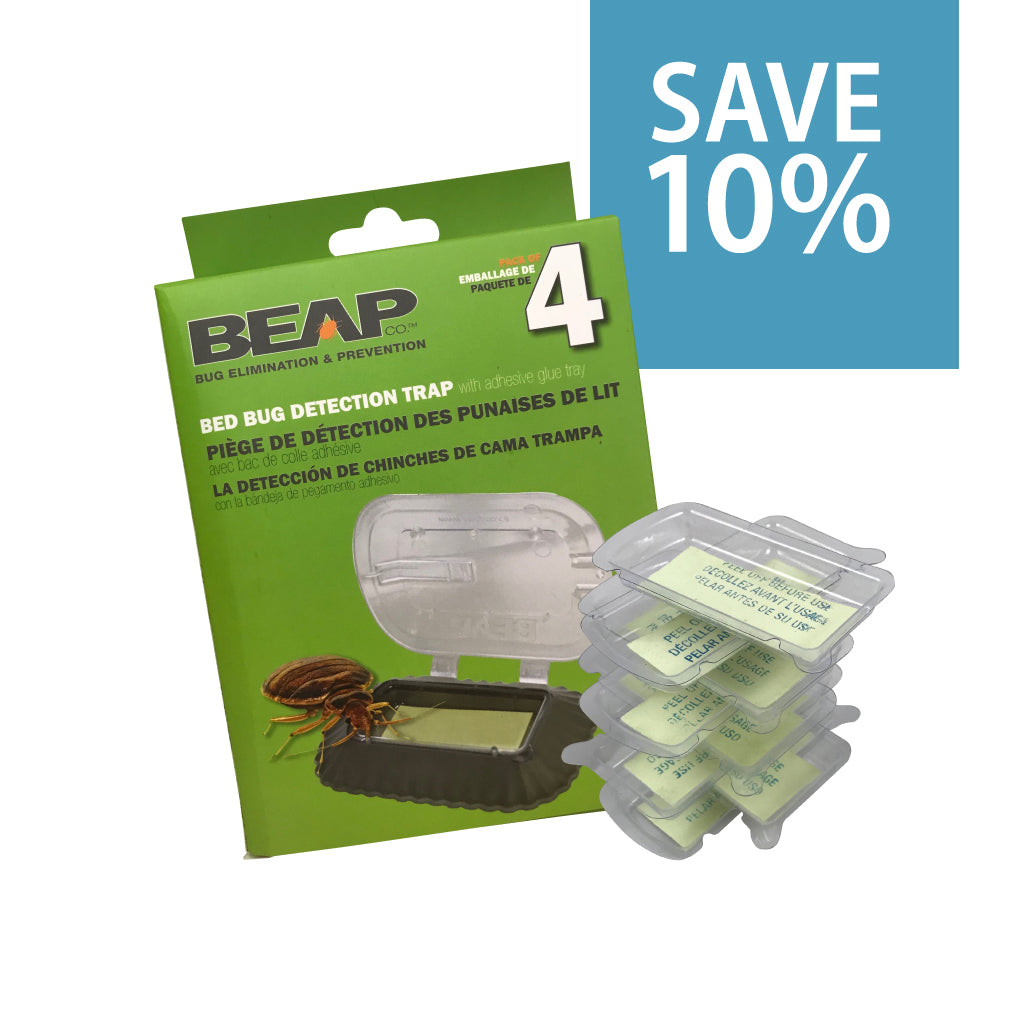 BeapCo Bed Bug Trap and Glue Trays Bundle