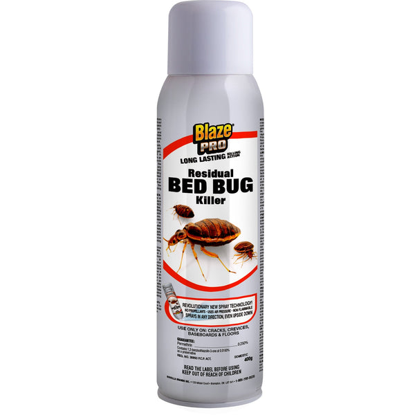 Blaze Pro Residual Bed Bug Killer – 400 G - Bed Bug SOS