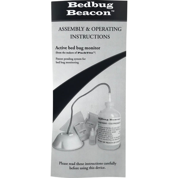 Bed Bug Beacon Active Bed Bug Monitor and Trap