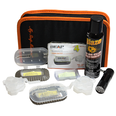 Deluxe Bed Bug Travel Kit