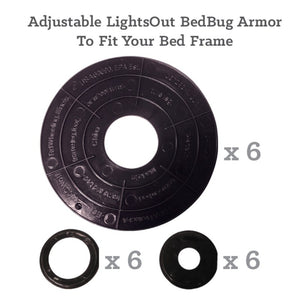 LightsOut Bed Bug Armour - Bed Bug SOS