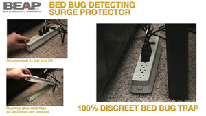 Bed Bug Detecting Surge Protector with LURE - Bed Bug SOS
