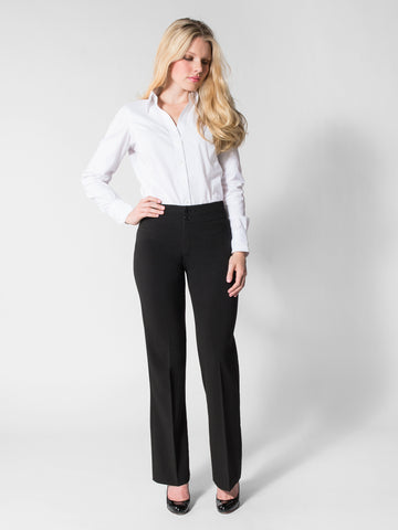 Tina - Business Casual Pant (Black)