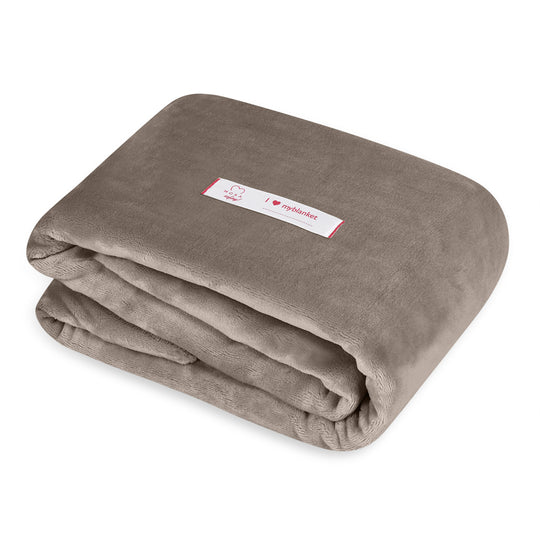 Mora Sofing (Mink) Personalised Microfibre Soft Sofa Blanket