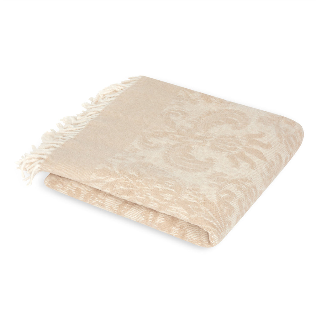 Mora Interior Eco, Champagne, Throw, Blanket, Chunky Knit Blanket