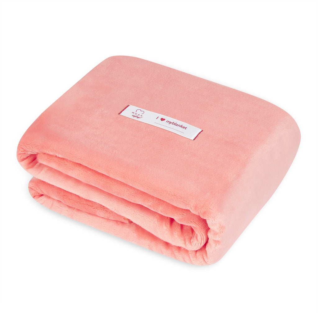 Mora Sofing (Pink Blanket) Throw, Chunky Knit, Cotton, Blankets, Cosy
