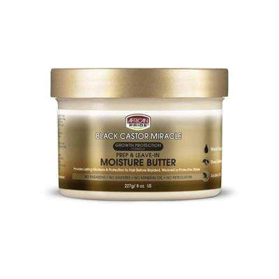 African Pride - Black Castor Miracle Moisturizing Butter - 227g - African Pride - Ethni Beauty Market