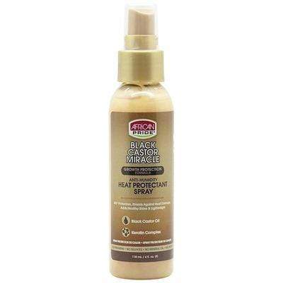 African Pride - Thermal Protection Spray With Castor & Keratin 118ml - African Pride - Ethni Beauty Market