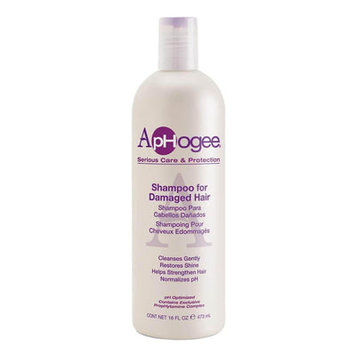 ApHogee - Repairing shampoo for damaged hair 473ml - Aphogee - Ethni Beauty Market