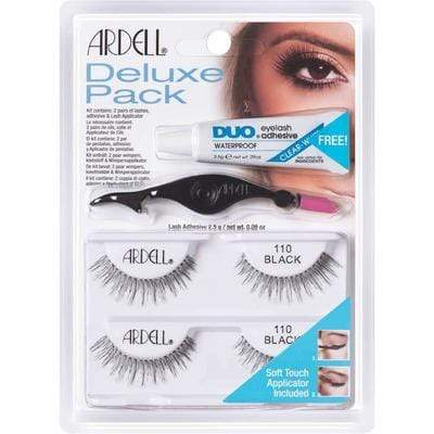 Ardell - Deluxe Pack False Lashes 110 Black - Ardell - Ethni Beauty Market
