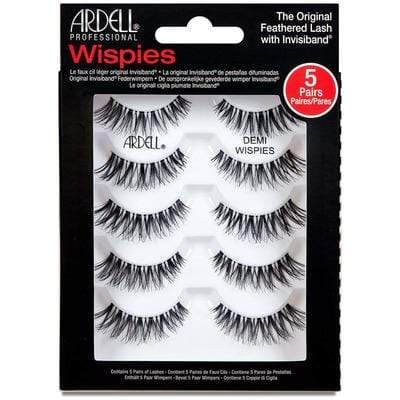 Ardell False Eyelashes Half Wispies Ardell False Eyelashes Multipack Wispies X 5
