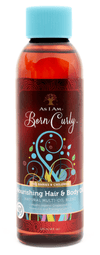 """As I Am - Born Curly - Nourishing Oil """"Hair And Body"""" - 120ml - As I Am - Ethni Beauty Market"""
