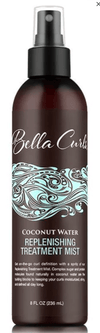 Bella Curls - The Coconut Water Replenishing Treatment Mist - 236 ml - Bella Curls - Ethni Beauty Market