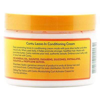 Cantu - Shea Butter - Leave-In Conditioner Cream With Shea Butter 340G - Cantu - Ethni Beauty Market