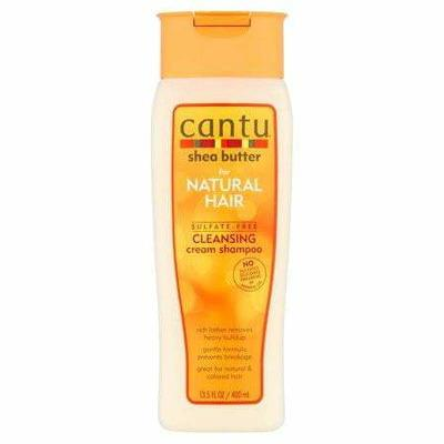 Cantu Shampoing Cantu - Shea Butter - Shampooing Nettoyant Sans Sulfate Au Karité 400ml
