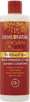 """Creme of Nature - Argan oil - Hydrating co-wash """"cleansing conditioner"""" - 354ml - Creme Of Nature - Ethni Beauty Market"""