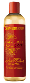 "Creme Of Nature - Argan Oil - Soin intensif ""intensive conditioning treatment"" - 354ml - Creme of nature - Ethni Beauty Market"
