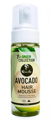 "Curls - Mousse de coiffage à l'avocat ""Avocado Hair Mousse Green"" - 236,5g - Curls - Ethni Beauty Market"