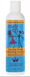 Curly Q's - Mild moisturizing conditioner for children (Curly Q's Coconut Dream Moisturizing Conditioner CURLS) - 240 ML - Curly Q's - Ethni Beauty Market