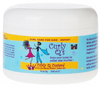 Curly Q's - Curly hair styling cream for children (Curly Q's Custard CURLS) - 240 ML