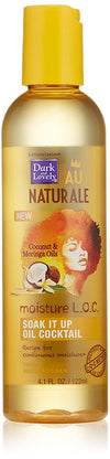 "Dark and Lovely - Au naturale Cocktail of oils ""Soak it up"" - 122 ml - Dark and Lovely - Ethni Beauty Market"