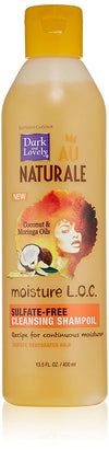 "Dark And Lovely - Sulphate-free cleansing shampoo ""Au naturale Coconut & Moringa"" - 400 ml - Dark and Lovely - Ethni Beauty Market"