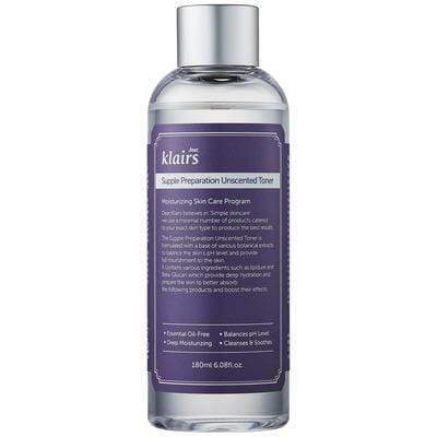"Dear Klairs - Lotion Tonique Sans Parfum ""Supple Preparation Facial Toner"" 180ml - Dear Klairs - Ethni Beauty Market"