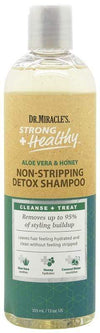 Dr Miracle's - Strong + Healthy - Non-stripping detoxifying shampoo - 355 ml - Dr Miracle's - Ethni Beauty Market