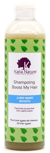 EBM Shampoing 100 ML Kalia Nature - Shampoing BOOST MY HAIR à l'Ortie Piquante - Deux contenances disponibles