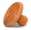 Terracotta flat scrub disc - Ethni Beauty Market - Ethni Beauty Market