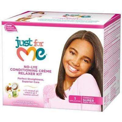 Just For Me - Relaxer Kit For Kids (Super) - Just For Me - Ethni Beauty Market