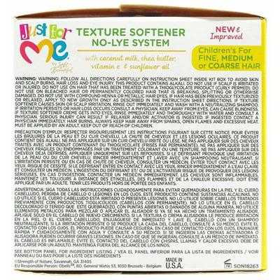 Just For Me - Texture Softner Kit - Softening Kit - Fine, Medium or Thick Hair - Just For Me - Ethni Beauty Market