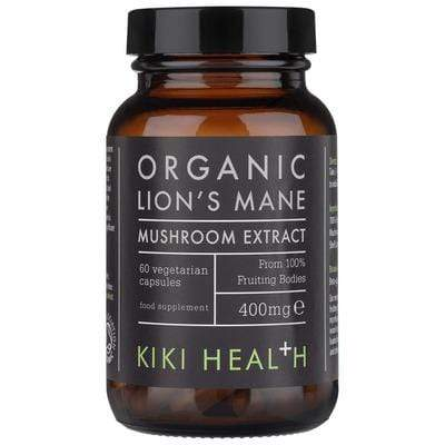 KIKI Health - Food supplement - Memory and concentration with organic Lion's Mane mushroom in capsules (60 capsules) - 400mg - Kiki Health - Ethni Beauty Market