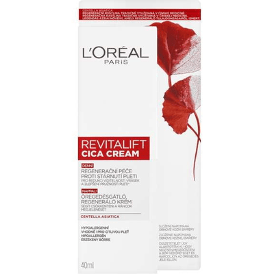 L'Oréal Paris - Revitalift Cica Cream - Anti-Aging Regenerating Day Cream 40ml - L'Oréal - Ethni Beauty Market