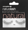 Salon System - Naturalash 155 Black Natural false eyelashes - Salon System - Ethni Beauty Market