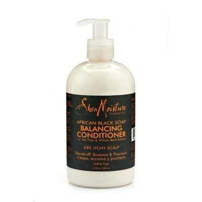 Shea Moisture - African Black Soap Conditioner 384ml and 118ml - Shea Moisture - Ethni Beauty Market