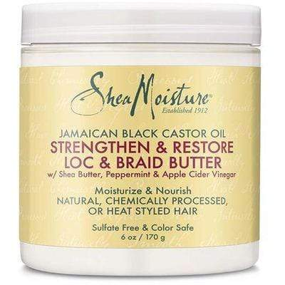 Shea Moisture - Moisturizing And Nourishing Butter For Frizzy Or Braided Hair With Jamaican Black Castor Oil 170g - Shea Moisture - Ethni Beauty Market