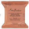 "Shea Moisture - Coconut & Hibiscus - ""Radiance"" cleansing wipes - 23g - Shea Moisture - Ethni Beauty Market"