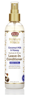 African Pride - Leave-in Conditioner Coconut Milk and Honey - 237ml - Shea Moisture - Ethni Beauty Market