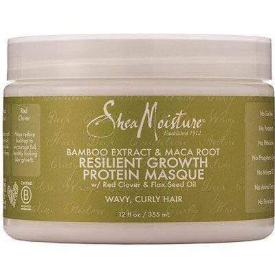 Shea Moisture - Protein Growth Mask With Bamboo Extract & Maca Root 355ml - Shea Moisture - Ethni Beauty Market