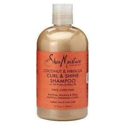 "Shea Moisture - Coconut & Hibiscus ""Curl & Shine"" Shampoo (Several sizes available) - Shea Moisture - Ethni Beauty Market"